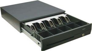 Posiflex CR-4000-B Preto caixa para notas e moedas