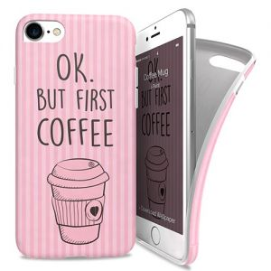 I-PAINT - Soft Case iPhone 7 (coffee mug)