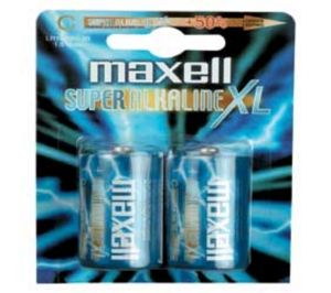 MAXELL - PILHAS ALCALINAS LR14 C MN1400 PACK 2