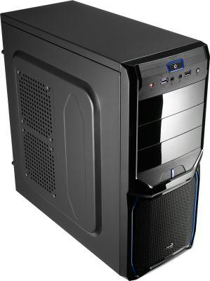 AEROCOOL - Caixa AEROCOOL V3X ADV. ATX/MICRO-ATX/MINI-ITX/MIDI-TOWER USB3.0/USB2.0 EVIL BLUE - V3XADBB