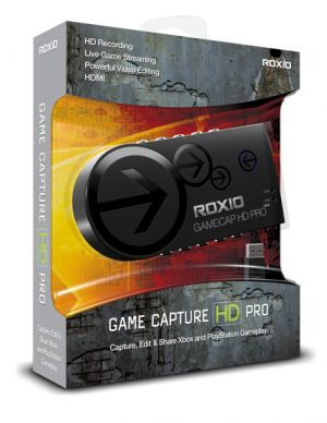 COREL - ROXIO GAME CAPTURE HD PRO - ADAPTADOR DE CAPTURA DE VÍDEO - USB 2.0