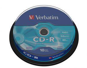VERBATIM - CD -R 700MB 52X SPINDLE 10 DATALIFE