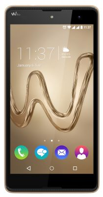 WIKO - SMARTPHONE ROBBY 5.5PHD IPS/1GB 16GB/8MP 5MP/ANDROID 6.0/DUAL SPEAKER AURO3D/METAL BODY GOLD - ROBBY Gold