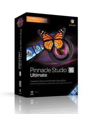 COREL - Pinnacle Studio 16 Ultimate / PT WIN
