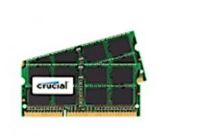 CRUCIAL - SODDR3 Kit (4GB x 2) PC-8500 CL7 p / MAC