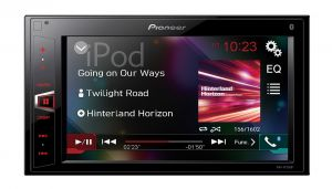 PIONEER - AUTO RADIO MULTIMEDIA ECRA 6:2P TACTIL BLUETOOH USB
