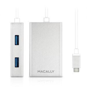 MACALLY - Hub 3.1 USB-C - USB A (4-port)