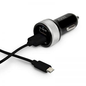 PORT Designs - Car Charger 2 USB & Micro USB