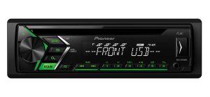 PIONEER - AUTO RADIO RDS CD USB ENTRADA AUX ILUMINAÇÃO VERDE