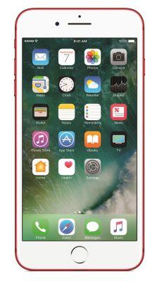 Apple iPhone 7 Plus SIM único 4G 128GB Vermelho