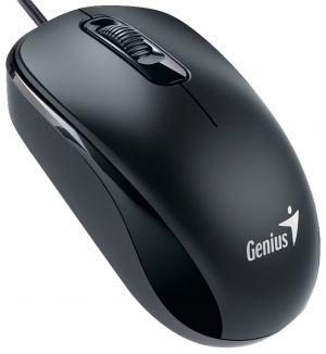 Genius DX-110 USB Óptico 1000DPI Ambidestro Preto rato