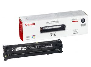 Canon Cartridge 716 Black 2300páginas Preto