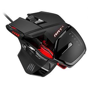 MAD CATZ - MCB4373100A3/04/1 USB ótico 5000DPI mão direita Preto Rato