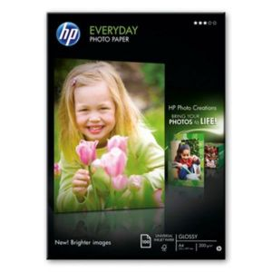 HP - EverydayPhotoPaper:semi-glossy:170g / m²:A4(100sheets)