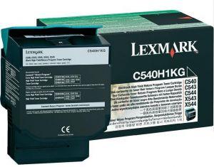 LEXMARK - TONER PRETO ELEVADA CAP. C / RETOR 2.5K