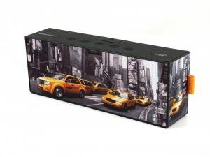 MUSE - Colunas M-720 NY SPLASH PROOF Bluetooth A2DP-NFC 2X5W Mãos Livres ENTRADA AUXILIAR 360º SONIDO