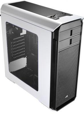 AEROCOOL - Caixa AEROCOOL AERO500 ATX/MICRO-ATX/MINI-ITX/MIDI-TOWER C/WINDOW USB3.0/2XUSB2.0 WHITE - AERO500WH
