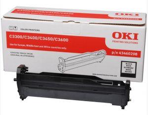 OKI - TAMBOR LASER PRETO TIPO C9 15.000 PAGINAS C /  3300 /  3400 /  3450 /  3600
