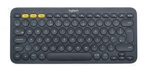 LOGITECH - Multi-Device K380 - Teclado - Bluetooth - Inglês GB - preto