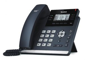 SPC - YEALINK - MODERN STYLE IP PHONE 12 PERP ACCOUNTS WITH POE NO PS