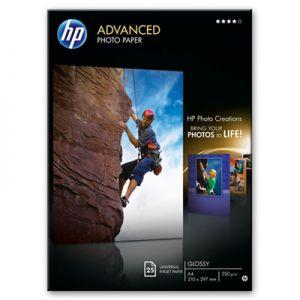 HP - Advanced Glossy Photo Paper 250 g / m²-A4 / 210 x 297 mm / 25 sht