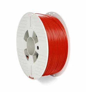 VERBATIM - FILAMENTO 3D PET-G 1.75MM 1KG VERMELHO