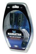 MANHATTAN - CABO EXTENSÃO DE SINAL USB via cabo Rj45 - 60m