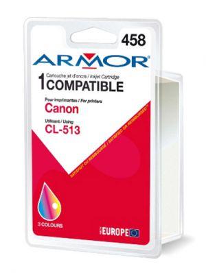 ARMOR - CANON TINTEIRO COMPATÍVEL CL-513 CORES ALTA C