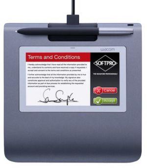 Wacom PenPartner STU-530 Signature pad 2540lpi 108 x 64.8mm USB Preto, Cinzento mesa digitalizadora