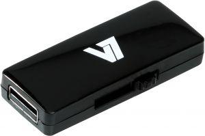 V7 - AXPRO - SLIDER USB STICK 16GB MEM USB 2.0 BLACK