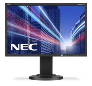 NEC - MultiSync E223W - Monitor LED - 22P - 1680 x 1050 HD 720p - TN - 250 cd/m² - 1000:1 - 5 ms - DVI-D, VGA, DisplayPort - pre - 60003334