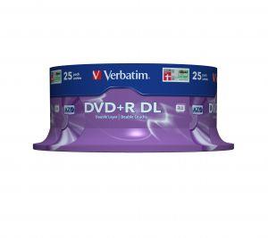 VERBATIM - DVD+R 8X 8.5GB DOUBLE LAYER BOBINE (