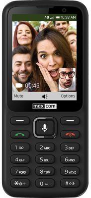 "MAXCOM - Telemovel Classic MK241 3,2"" Single SIM 2G Preto"