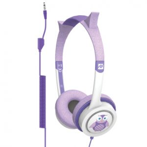 ZAGG - IFROGZ ACCESSORIES - HEADPHONE LITTLE ROCKERZ COSTUMACCS BUDDY JACK AND COILED CABL-OWL - IFLRCC-OW0