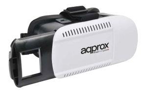 APPROX - Auscultadores de realidade virtual Auscultadores de realidade virtual preto / branco