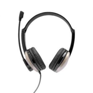 BLUESTORK - BS-MC190 BINAURALE Auscultador Preto Auricular com Microfone