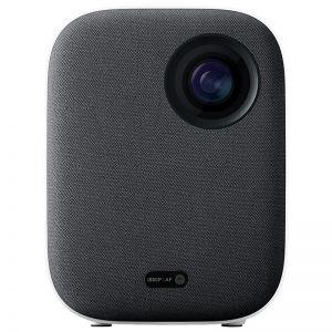 XIAOMI - Mini Projector Inteligente Mi LED 500 ANSI Lumens Wi-Fi Bluetooth Coluna 2x5W