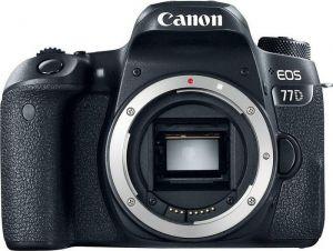 CANON - EOS 77D BODY - 24,2 megapixels, DIGIC 7, Wi-Fi e NFC, Dual Pixel CMOS AF, Vídeo em Full HD, BT