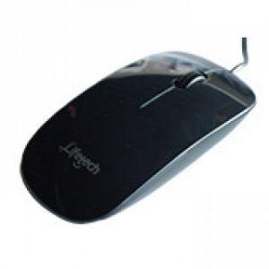 Lifetech LFMOU055 USB Óptico 800DPI Ambidestro Preto rato