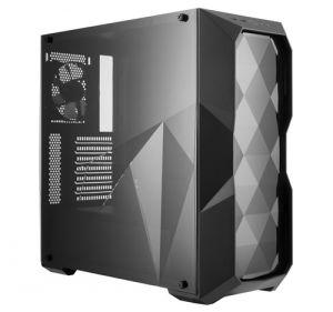 COOLER MASTER - MasterBox D500L, Three Dimensional Diamond cut design, acrilic side panel, up to 6x 120mm case fan