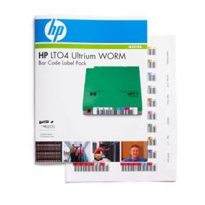 HP - Ultrium 4 WORM Bar Code Label Pack