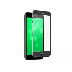 SBS - SCREEN PROTECTOR FULL GLASS ACCS ROUNDED EDGE IPHONE 7/6S/6 BLACK