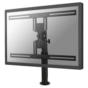 NEWSTAR - FPMA-D1200BLACK - Montagem na secretária para visor LCD - preto - tamanho de tela: 32P-60P