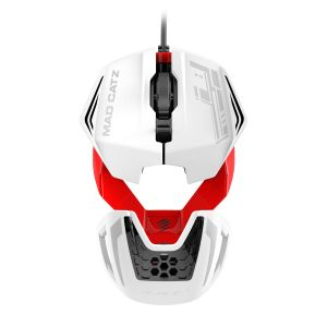 MAD CATZ - RatoPC R.A.T.1 WIRED WHITE/RED