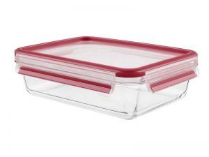 Tefal K3010512 Retangular Caixa 2l Vermelho, Transparente 1peça(s)