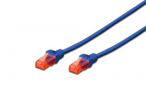 DIGITUS - DIGITUS CHICOTE UTP CAT6 LSZH AZUL - 0.25MT