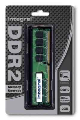 Integral 2GB 667MHZ DDR2 2GB DDR2 667MHz módulo de memória