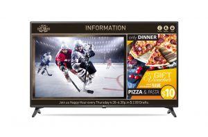 LG - LED TV 49P FHD VGA HDMI SUPERSIGN HOSPITAL