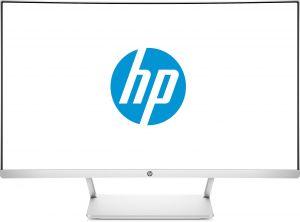 HP - 27 - Monitor - FHD (1920 x 1080 a 60 Hz), 300 cd/m2, 1 HDMI, 1 DisplayPort 1.2 (com suporte HDCP)