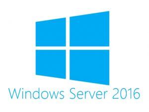 HP - MS Windows Server 2016 (16-Core) Standard ROK PT SW